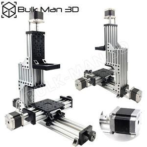 MiniMill CNC Machine Mechanical Kit 3 Axis DIY CNC Milling Cutting Engraver