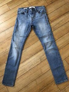 Hollister Boys Blue Extreme Skinny Jean 28x 30