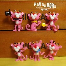 Pink Panther Special Edition 3-4cm Cute Mini Figurine Toy Set of 6pcs UA