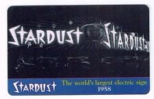 STARDUST Room Key Las Vegas Casino / World's Largest Electric Sign 1958
