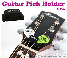 Alice Guitar Head-stock Plectrum / Pick Holder. A Guitarist Must Have Accessory.