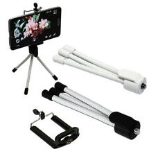 Grey Mini Tripod Mount for Smartphones Samsung Galaxy S3 S4 S5 Note 2 3 HTC One
