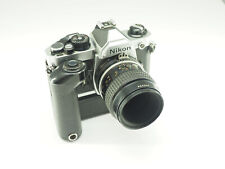 ***Nikon FM2 Camera with 55mm f2.8 Macro Lens and MD-11 Motor Drive***