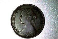 Canada, Queen Victoria, XF+ , New Brunswick  1861 Large Cent #Q043