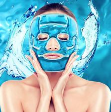 AVOXY.de Gel Gesichtsmaske Wellnessmaske Entspannung Kältetherapie Gelmaske Kühl