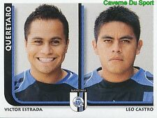 303 ESTRADA / LEO CASTRO FC.QUERETARO MEXICO STICKER SUPERFUTBOL 2009 PANINI