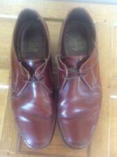 BARKER Nortampton Vintage Brown Leather 2 eyelet lace up Formal Shoes Men's 9.5