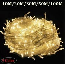 Christmas LED Fairy String Lights Waterproof Outdoor & Home Wedding Decoration