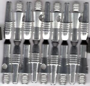 1.5in. 2ba SILVER Spinster Spinning Aluminum Dart Shafts: 3 per set