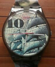 "Maxi Swatch  ""Mark"" - GM106 - Serie Color of Money - Wall clock"