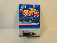 Hot Wheels 2000 First Editions Silver Lotus Elise 340R 1:64 Scale Diecast mb2057