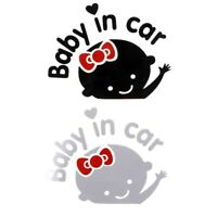 Baby In Car Waving Baby on Board Warning Safety Sign Car Decal Vinyl Sticker NEW