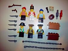 Lego Minifigure Pirates Lot F ~ Pirates, Weapons and Accessories