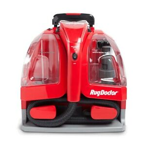 Rug Doctor Portable Spot Cleaner Carpet Cleaning Machine All Red Model PSC-1