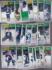 1983 - 84 OPC Team SET Lot of 22 Toronto MAPLE LEAFS NM+ o-pee-chee VAIVE Borje