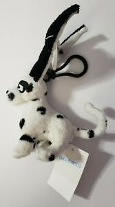 "NEOPETS LIMITED TOO 2005 SPOTTED GELERT BACKPACK CLIP 6"" PLUSH ANIMAL HTF"
