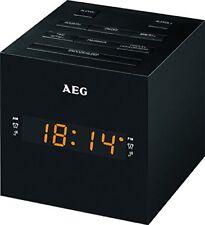 400666 Radio-rãveil USB Aux-in AEG MRC 4150 - Noir
