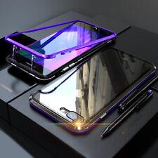 Handy Tasche Magnetische Adsorption Luxus Hülle Etui für iPhone 6s 7 8 Plus X Xs