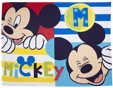 OFFICIAL NEW DISNEY MICKEY MOUSE BOO PANEL FLEECE CHILDRENS MICKEY MOUSE BLANKET