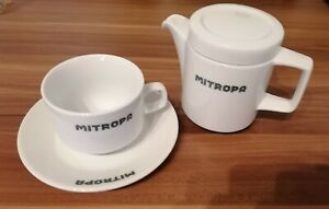 Porzellan MITROPA Kaffeeservice DDR Top Zustand 3 Teilig