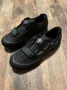 Pearl Izumi W X-ALP Elevate Black Cycling Shoes Womens Sz 38 New No Box