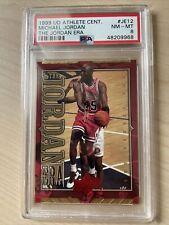 1999-2000 PSA 8 Upper Deck Michael Jordan Athlete of the Century #JE12 #Bulls