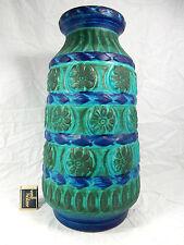 70´s WGP design Bay in rilievo Ceramica Pottery Vaso in a rare Colour 76 40