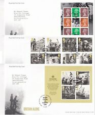 More details for first day cover gb 2010 britain alone war [tallents house] typed address uk