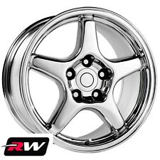 "(4) 17x9.5"" inch Wheels C4 ZR1 Chevy Corvette style Chrome Rims for C4 1984-1987"
