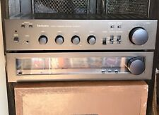 SWEET Classic 1979 Technics SU-8022 Amp ST-8011 Tuner w/ Boxes, etc