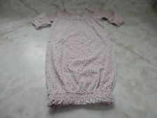 Baby Girl 3 Months Carters Floral Sheep Cotton Sleeper Hand Cover Gown
