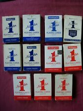 Waddingtons No.1 Playing Cards Boxed X11 Deck Job Lot 1970s most with Jokers