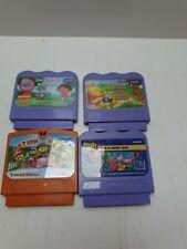 Paquete De 4 Juegos Cartuchos V. sonrisa, winniethepooh, Dora, Bob, acción Mania