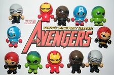 Marvel Avengers Party Favors Set of 12 Neat 3 in 1 Figures W/ Bouncy Ball Heads