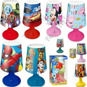 BOYS GIRLS KIDS CHILDRENS TODDLERS NIGHT LIGHTS LAMP DISNEY CHARACTORS