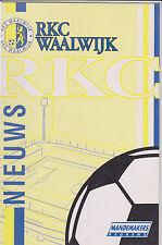 RKC Waalwijk Presentatiegids Magazine 1997-1998