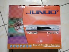 JUNUO DIGITAL FTA SATELLITE TV/RADIO Receiver, 2500 Channels, Multi language OPS