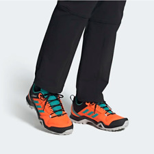 Adidas Mens Terrex AX3 Hiking Walking Shoes Outdoor Orange FU7825 UK 7.5, 8.5