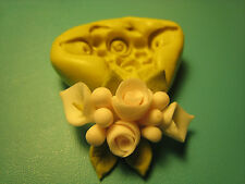 Flower Bouquet Wedding Silicone Mold Gumpaste Fondant isomalt polymer clay 112