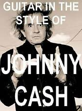Johnny Cash Style Lead & Rhythm Guitar Dvd Lesson Ring Of Fire, Folsom Prison