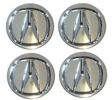 ACURA RL CL TL RDX TLX MDX TSX ZDX RLX Chrome Center Hub Caps OEM original 4 NEW