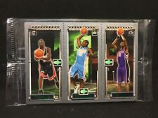 DWYANE WADE / CARMELO / BOSH 2003-04 Topps Rookie Matrix PROMO Set PACK 3 Cards
