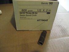 3M 1/2 X 2 60X GRIT SPIRAL BANDS 50PCS (D084-50)