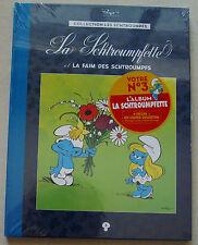 Collection Les Schtroumpfs T 3 La Schtroumpfette PEYO Hachette + cahier collecto