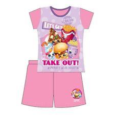 MLP Summer Pyjamas Pjs Ages 3 to 10 Yrs Girls Disney Beauty and Beast Shopkins