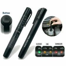 Brake Fluid Liquid Oil Tester Pen 5LED Indicator Car Testing Tool for DOT4/DOT3