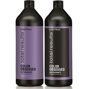 MATRIX TOTAL NEW RESULTS COLOR OBSESSED SHAMPOO & CONDITIONER 1000ML/Litre