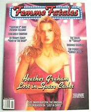 Magazine / Femme Fatales / Volume 7 Num 1 / Heather Graham / Adult Readers Only