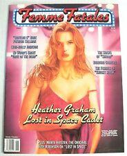 Magazine / Femme Fatales / Volume 7 Num 1 / Heather Graham / Adult Readers Only