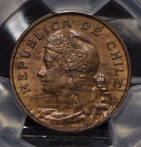 Chile 1907 So 2 1/2 Centavos PCGS MS63BN lustrous KM-162 PC0553 combine